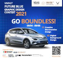VINFAST FUTURE BLUE GRAPHIC DESIGN CONTEST 2021