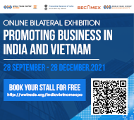 ONLINE BILATERAL EXHIBITION  PROMOTING BUSINESS IN INDIA & VIETNAM